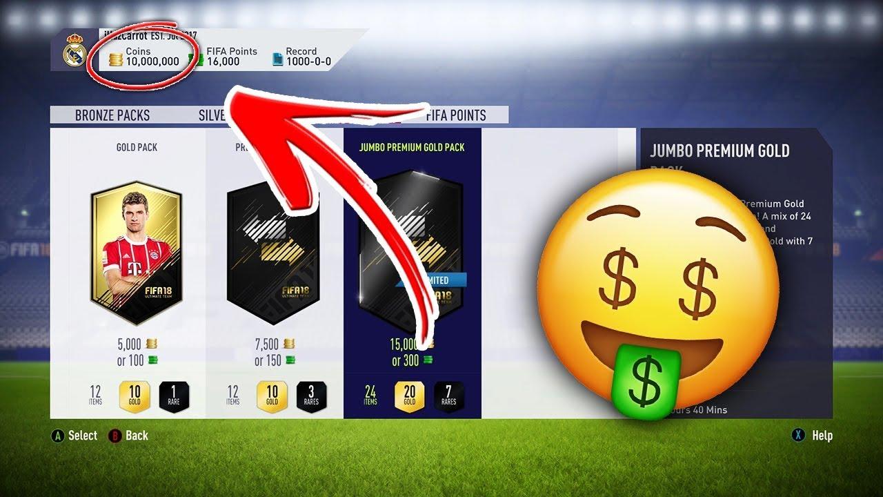 Как заработать в FIFA 19